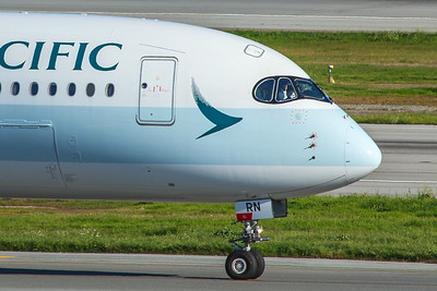Cathay Pacific Airbus A350-941 B-LRN 2-4-18