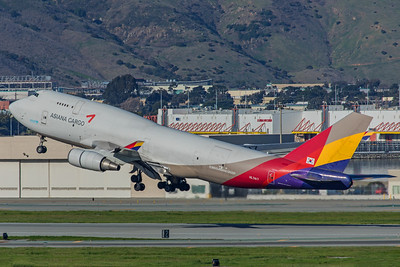 Asiana Airlines Cargo Boeing 747-48E(BDSF) HL7417 2-4-18