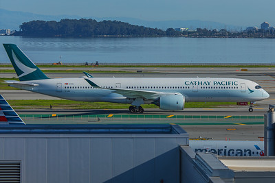 Cathay Pacific Airbus A350-941 B-LRN 2-4-18 2