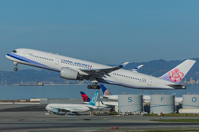 China Airlines Airbus A350-941 B-18902  2-4-18