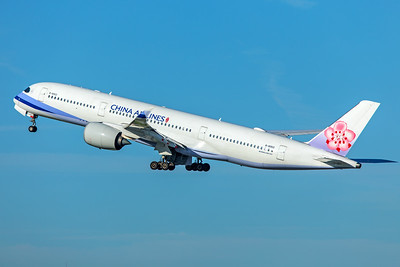 China Airlines Airbus A350-941 B-18902  2-4-18 2