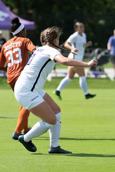 Wildcats come up short 0-1 against the Texas Longhorns. Sept 29, 2019. (Dylan Connell | Collegian Media Group)