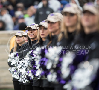 The Kansas State Classy Cats perform for the football game against the West Virginia Mountaineers at Bill Snyder Family Stadium, in Manhattan, KS, on Nov. 11, 2017. (Olivia Bergmeier | Collegian Media Group)