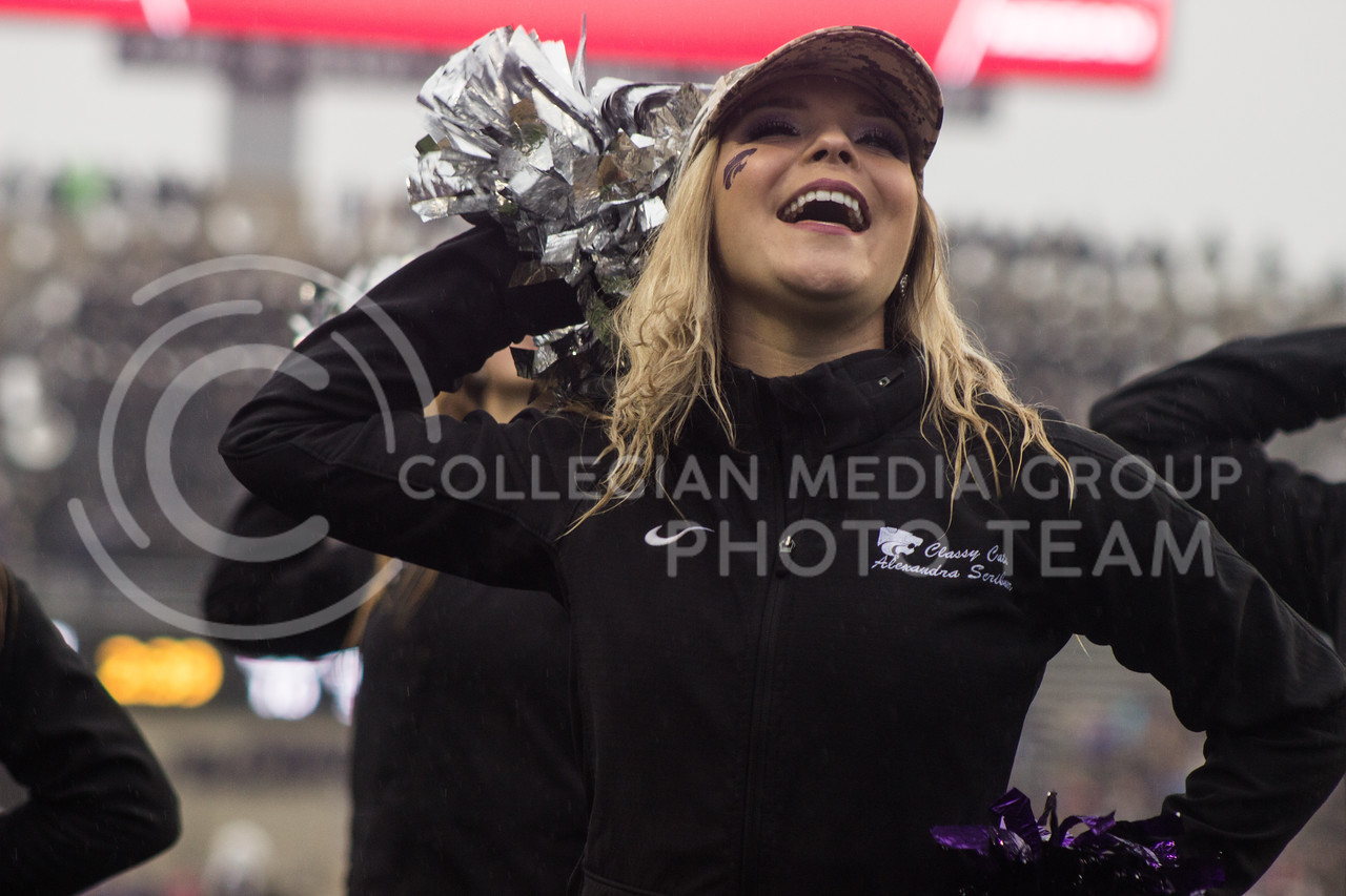 Kansas State Classy Cats at the game against the West Virginia Mountaineers at Bill Snyder Family Stadium, in Manhattan, KS, on Nov. 11, 2017. (Regan Tokos| Collegian Media Group)