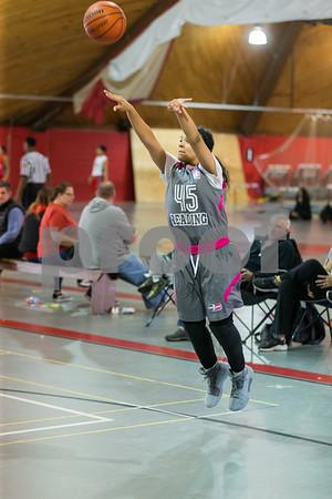 KTB girls vs Shamrocks Redstorm Basketball 4-8-18