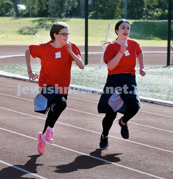 KTC Girls Sports Carnival. Ariella Rev and Dalia Goldberg.