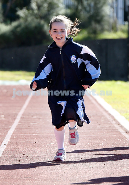 KTC Girls Sports Carnival. Dina Lowinger in the long jump.