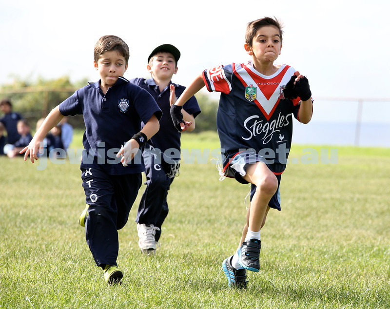 KTC infants sports carnival. Yonatan Sueke, Zev Sacks, Nehorai Malka