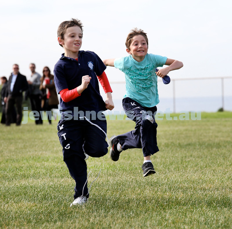 KTC infants sports carnival. Levi Gescheit & JJ Raskin.