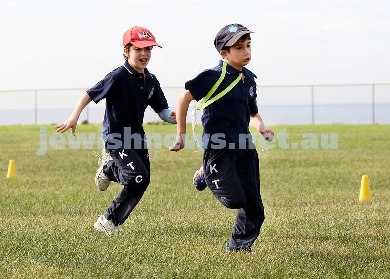 KTC infants sports carnival. Akiva Winton and Ariel Moss