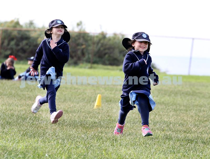 KTC infants sports carnival. Mia Friedman, Leah Groner.