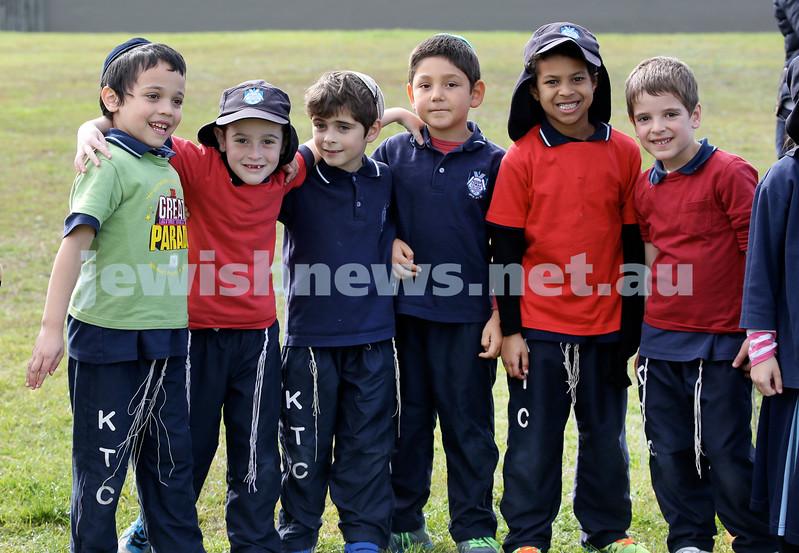 KTC infants sports carnival. Levi Dadon, Shmuli Joseph, Noah Weinberg, Noah Harkham, Rafael Bowdre, Rafi Reinhardt