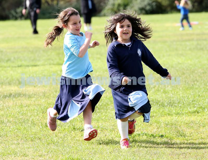KTC infants sports carnival. Libby Suttner, Chana Chriqui