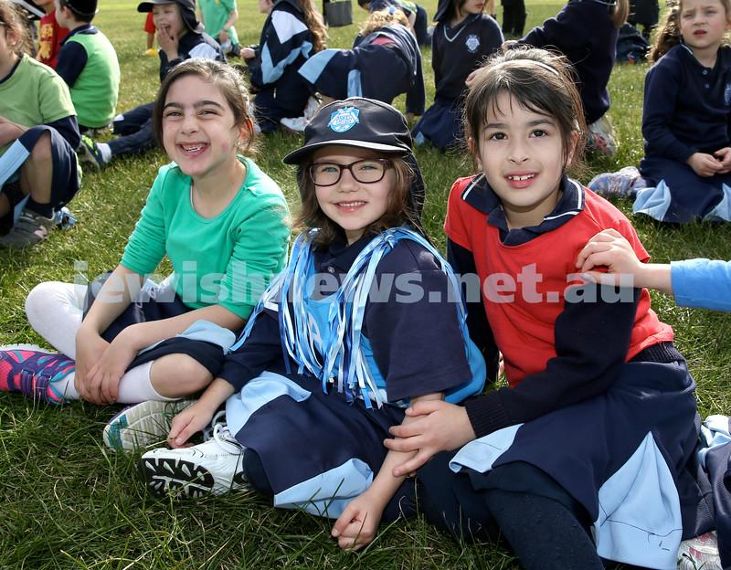 KTC infants sports carnival. Eden Ozana, Amarise Maryanka, Toby Komar