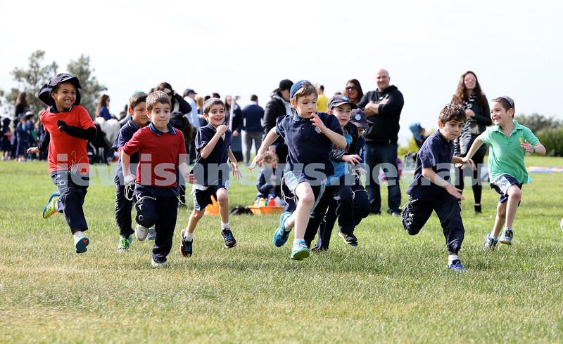 KTC infants sports carnival. year 2 boys 400m race.
