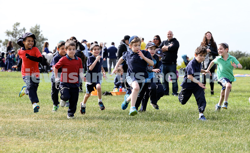 KTC infants sports carnival. year 2 boys 400m race.