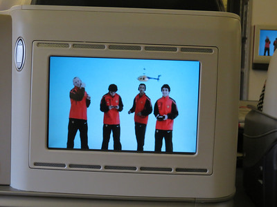 Manchester United in the Turkish Airline safety video, you can find it on YouTube