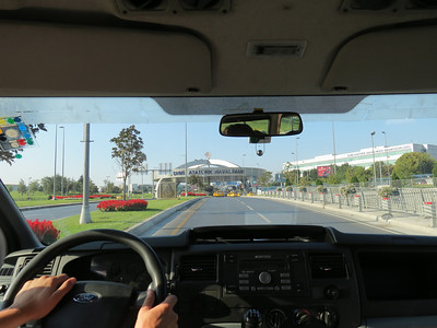 Shuttle ride to Istanbul Airport - 9/14/12