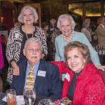 Jean Shewciw and Janet Falk standing with Charles Hebel, Jr. and Carol Hebel sitting.
