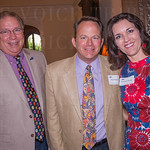 Larry Fisher and Bob and Michelle Owings.