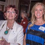 Paula Burke with guest speaker Jill Byrne.