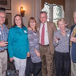 David and Martha English, Barbara and Alan Bernard and Rita and Chick Moore.