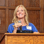 Guest speaker Jill Byrne of Churchill Downs.