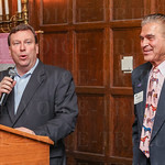 Churchill Downs President Kevin Flannery and KTO President Bill Shewciw.