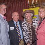 Chris Murphy, Chuck Wieting, Jean Zehnder of Lucky Trio Farm and Brenda Akin.