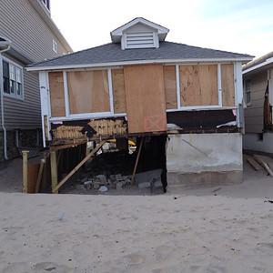 Superstorm Sandy Damage in Manasquan, NJ (iPhone Pic)