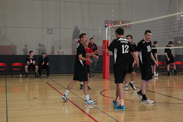 KU Mens volleyball UNO tournament