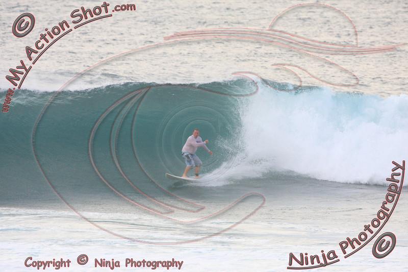 Kurt Peterson Surfing