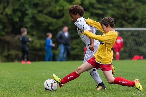 12/08/2017: U11IP FC Wetteren - U11P KVV Laarne -Kalken