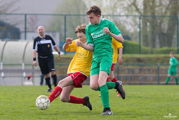 14/04/2018: KVV Laarne-Kalken - VC Zwijnaarde