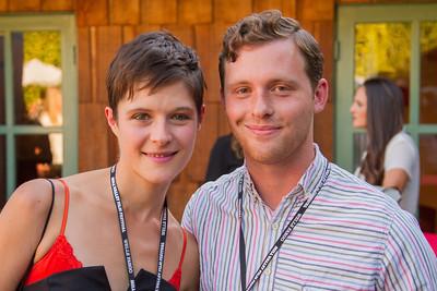 Film Star - Rea Mole  and Writer Daniel Mets -  Hide and Seek - 2014
