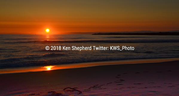 Winchester Jetty Sunset