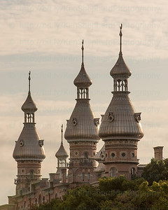 Golden Hour Spires