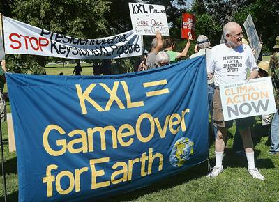 KXL-Obama-protest-3