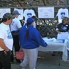 Fans looking to take home a memory.  Lexington Catholic parents provided most of the staffing for the first tournament.