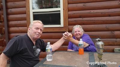 Jerry Harmon and Glenda Moreland-Harmon