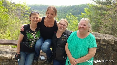 Tina Bonk-DD, Julia Cowan-King, Anmarie Sharp and Glenda Moreland-Harmon (left to right)