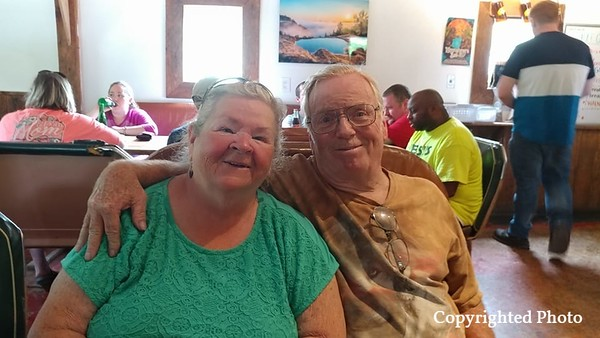 Glenda Moreland-Harmon and Jerry Harmon