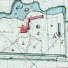 F3899<br /> Op dit minuutplan uit het begin van de 19de eeuw is het hele landgoed Ter Wegen te zien. De gebouwen rechts vormen boerderij Wiltrijk.