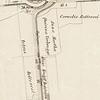 F3900<br /> Op deze kaart uit de tweede helft van de 19de eeuw zien we onderaan bij nummer 37 de haven (nu: Oude Haven) langs de Straatweg (nu: Hoofdstraat). De getallen op het kaartje zijn kadastrale nummers, waarmee de percelen werden aangegeven.<br /> De drie kleine huisjes aan het begin van de Teijlingerlaan zijn er nog niet. Wel goed te zien zijn de Teijlingersloot en de bloembollenvelden van Klaas Kruijff (zoon van Engel Kruijff), van Petrus en Cornelis Rotteveel en van Anna Martha Quirina Verbrugge. Bij 'Engelszoon' zien we een bollenschuur getekend. Bovenaan de kaart zien we de Ruïne van Teylingen, met links de Mottigervaart of Scheisloot. De ruïne is kadastraal aangegeven onder nummer 659. Onder nummer 658 zien we de voorburg en onder 657 een stukje weiland met boomgaard.