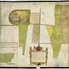 F3903<br /> Een kaart van het slot Teilingen met de daarbij gelegen landen.  Gemaakt in 1596 door Symon Aartz van Buningen en Floris Jacobs.
