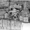 F1525 <br /> Plattegrond van het in 1895 afgebroken Huis Ter Wegen. Zie ook het boekje 'Sassenheim in oude ansichten' van G. Verschoor, pag. 5.  Dit huis heeft gestaan op het terrein van het voormalige bollenbedrijf van H. Verdegaal & Zn. N.V., ten zuiden van het Hospice.