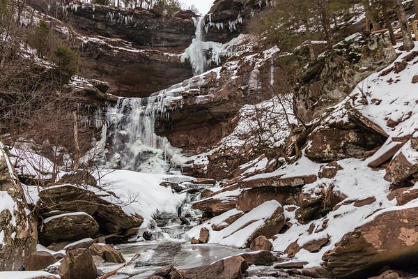 Kaaterskill Falls 2017 Winter