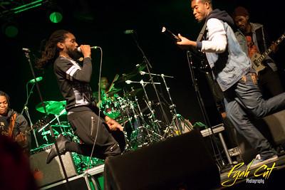 Kabaka Pyramid & The Pebblerockers live in Helsinki at Club Circus /// Oct 8th 2015 /// Street Reggae Festival
