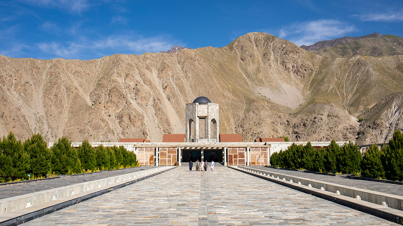 Ahmed Shah Massoud's tomb in Panjshir.