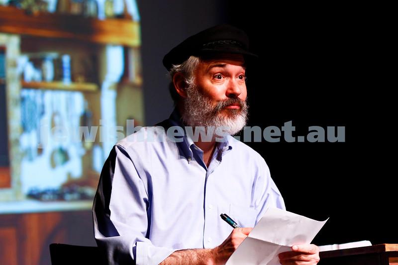 "b29-10-16. Kadimah's production of ""Sholem Aleichem: I'm Not Dead Yet"".  Photo: Peter Haskin"